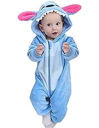 Pyjama Ensemble de Pyjama Dors Bien Enfant Bébé Combinaison Hiver Forme  Animal Déguisement Stitch ... 862f0b38f3a