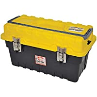 Pro-tech Tool Box With Metal Clips, 21 Inch [rst-03sm]