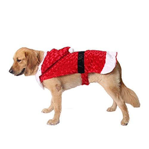 yu pet - Partei liefert Kleidung roten Hund Katze Festival Santa Verkleidet kostüme,XS