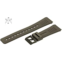 Casio Original Rubber Watch Strap Ansa 22 – 25 mm CMD-40-1ZT 40B-1ZT 40B-1Z 1ZCG - DBC-30-1Z Watch Strap