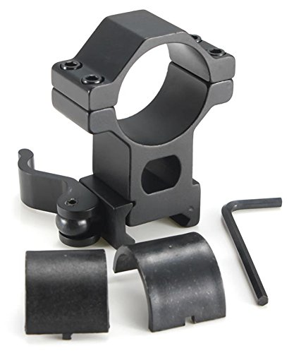 SaySure - Tactical High Profile 30mm Scope Rings Weaver Picatinny