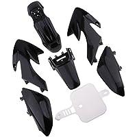 SGerste - Kit de guardabarros de plástico para Honda CRF50, 50 cc, 120 cc, 125 cc, color negro