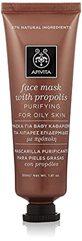 Apivita Purifying Face Mask with Propolis 1.7 oz 50ml (New Product, Exclusive Innovation)