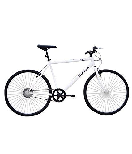Btwin My Bike Mountain Bike, Large (White)