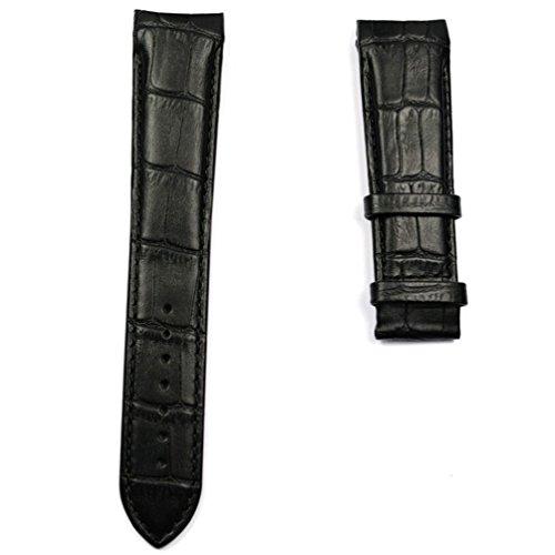 Schwarz Leder Strap XL Größe Tissot Couturier Chronograph Quarz t610028583