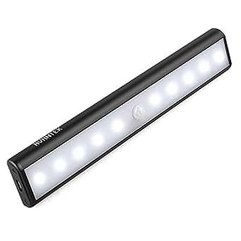 kabinett led licht avantek schrankbeleuchtung mit bewegungsmelder wiederaufladbare 3 modus. Black Bedroom Furniture Sets. Home Design Ideas