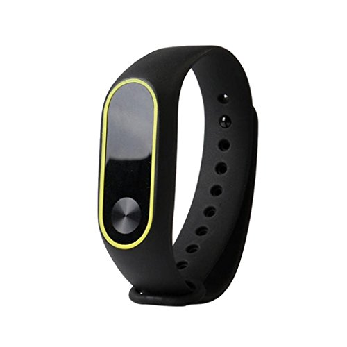 Dasongff Ersatz Silicagel Armband Band Strap Uhrenarmband Wristband Band Strap Touch Wechselarmband für Touch Cardio Activitytrack (Schwarz)