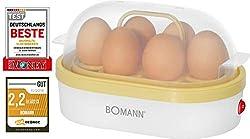 Bomann EK 5022 CB weiss-vanilla Eierkocher