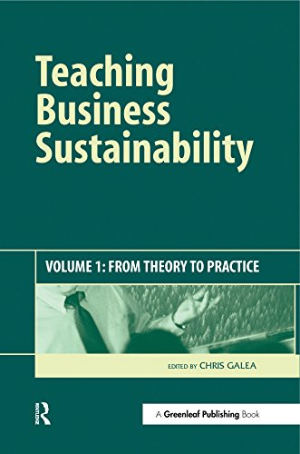 Teaching Business Sustainability: From Theory to Practice (English Edition)