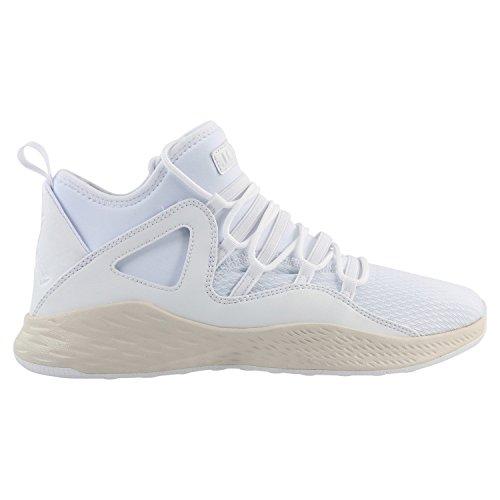 Nike Herren Jordan Formula 23 Weiß Textil/Synthetik Sneaker 44