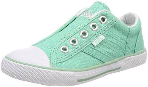 Lico Mädchen Conny Slip On Sneaker, Grün (Mintgrün), 31 EU