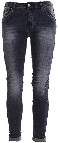 Pantaloni da donna a maniche corte BOYFRIEND Jeans pantaloni ìwptp 4Knopf Jeans Batik Chino sui pantaloni Harem Aladin Destroyed