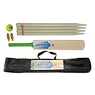 Avonstar Classics.com Ready to Play Full Cricket Set (Size 5)