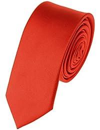 Cravate ultra mince de 5 cm à couleur unie. Produit offert par NYfashion101