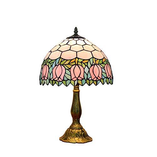iffany Art Glasmalerei Wohnzimmer Esszimmer Schlafzimmer Nachttischlampen Nachtbeleuchtung,Color,30x48cm ()