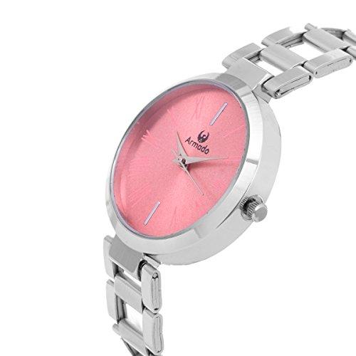 Armado Analogue Pink Dial Girl's Watch (Pnk-Ar-01)