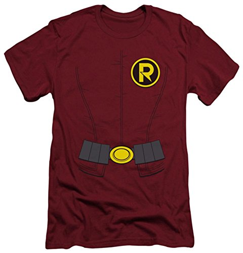 Batman – New Robin Kostüm (Slim Fit) T-Shirt Größe ()