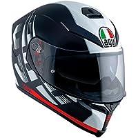 AGV Casque Moto K-5s E2205Multi pLK, darkstorm Matt Black/Red, ML