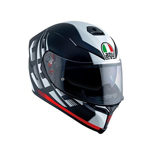 AGV Casco Moto K-5 S E2205 Multi plk, darkstorm Matt Black/Red, S