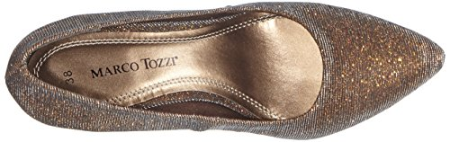 Marco Tozzi 22405, Escarpins femme Argent (bronze Metall. 968)