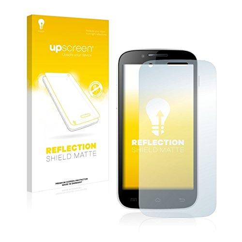 upscreen Reflection Shield Matte Bildschirmschutz Schutzfolie für Kazam Trooper 2 (4.5) (matt - entspiegelt, hoher Kratzschutz)