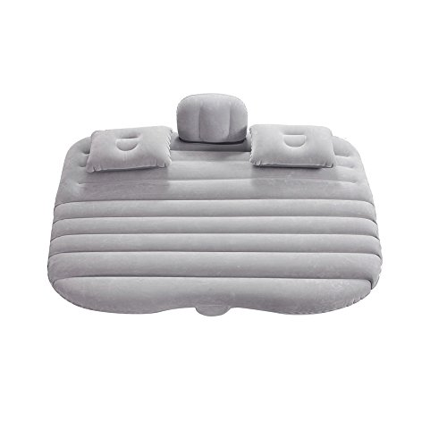 Vinteky®Un Set Completo Colchón Impermeable e hinchable para Coche convertible en Sofá inflable,Camping Asiento inflable en el coche para buen descanso y sueño,Inflatable Mattress