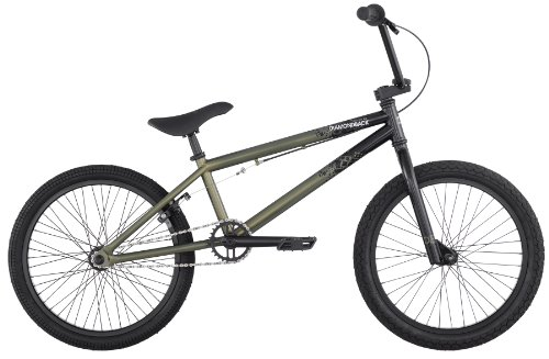Diamondback 2012Session am BMX Bike, grün/schwarz