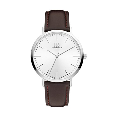 Danish Design Unisex Analogue Quartz Watch with Leather Strap IQ12Q1159