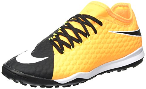 Nike Hypervenomx Finale Ii Tf, Chaussures de Football Homme Orange (Laser Orange/Black-White-Vert Volt-White)