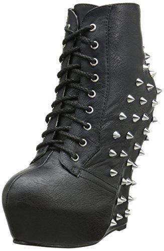 (Bettie Seite Frauen bp588-belladona Combat-Boot)