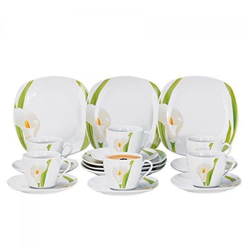 Kaffeeservice Calla 18tlg. für 6 Personen