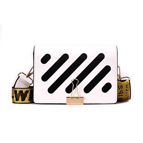 Damen Mini Handytasche Classic Handtasche Umhängetaschen, Neue Sommer Frauen Schlagen Die Farbe Schulter-Schulter-Beutel-Breitband-breites Schräges Kleines Quadrat - Breitband-geräte