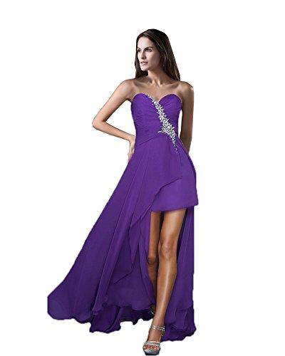 Vimans - Robe - Trapèze - Femme Purple 1
