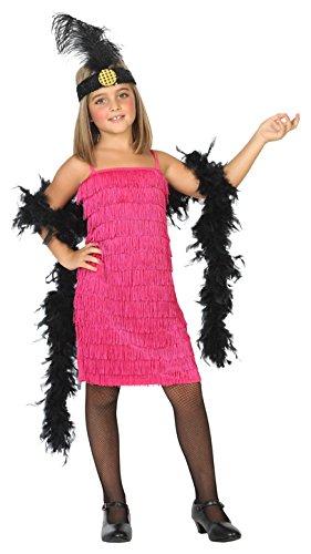 ATOSA 39389 Charleston, Kostüm Mädchen mehrfarbig 140 ()