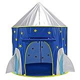 LVPY Tente d'Enfants pour Jouer - Tente dépliable Convient pour Une Utilisation intérieure et extérieure pour Filles et garçons - Bleu