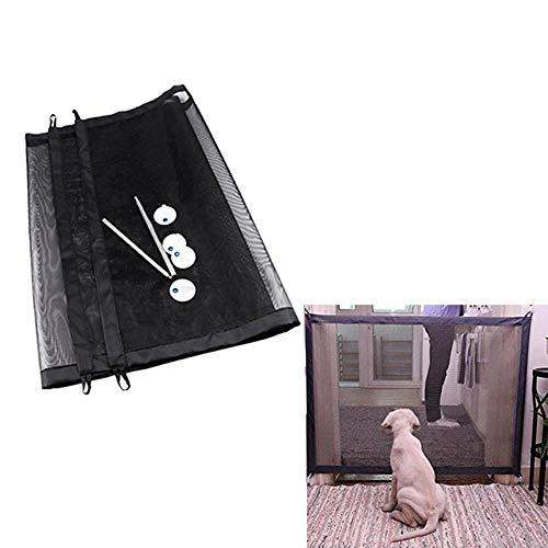 BABYS'q La Puerta Mágica-El Protector Seguro Plegable Portable Instala Dondequiera