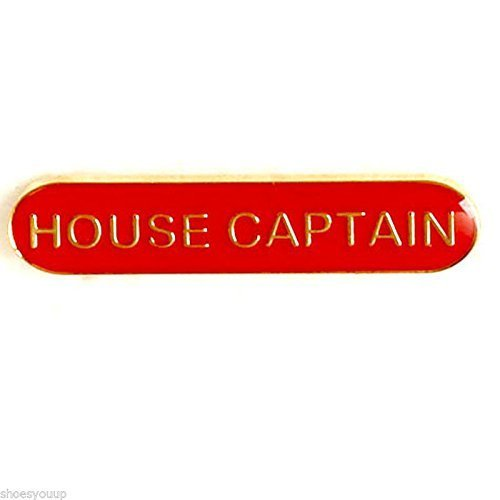 House Captain Badge was ideal für Schulen, Rot (House Captains)
