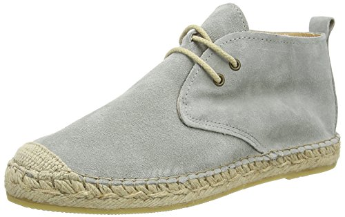 Fred de la BretoniereFred desert boot 10cm plain rope sole Benidorm - Espadrillas Donna , Grigio (Grau (Grigio 633)), 39