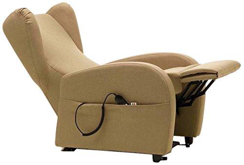 Tecnoespansi poltrona relax chaise longue legno 90x72x109 cm