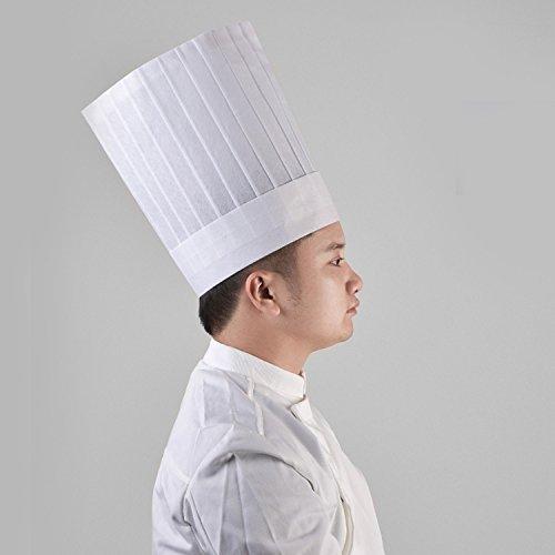 Zoom IMG-3 cappelli chef monouso migaven 10