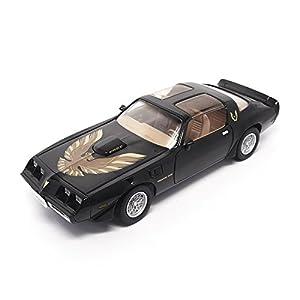 LUCKY Die-Cast 92378BLK 1:18 1979 Pontiac Firebird Trans Am Model Vehículo, Negro