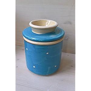 kleine französische Wasserbutterdose für 125g Butter in Lazuro Wassergekühlte Dose