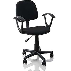 b rostuhl drehstuhl schreibtischstuhl schwarz k che haushalt. Black Bedroom Furniture Sets. Home Design Ideas