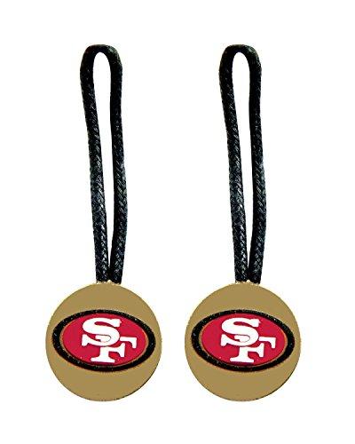 San Francisco 49ers Zipper Pull Charm Tag Set Luggage Pet Id Nfl [Misc.] 49ers-pet-set