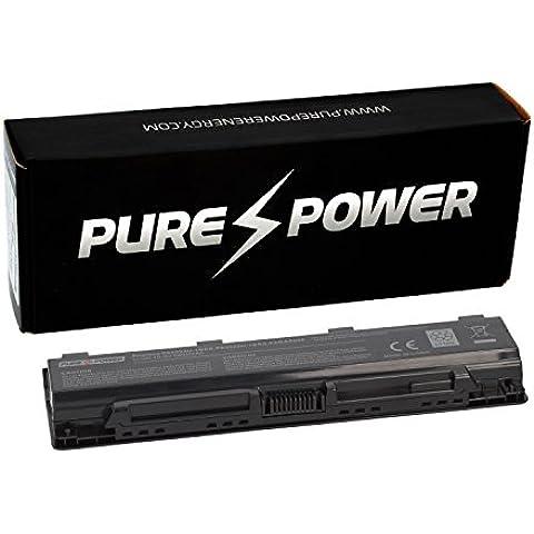 PURE⚡POWER® PLUS Batería del ordenador portátil para Toshiba Satellite P875-31C con las células originales de Samsung SDI 11.1V 5200 mAh negro 6