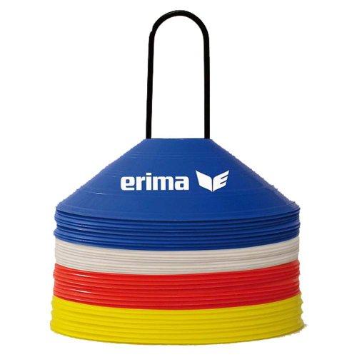 Erima Markierungshütchen Training Markierung blau rot gelb weiß, Grösse:uni size