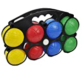 Unibos Brand New Plastic French Boules Garden Game Set Great Fun- Includes Carry Case