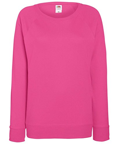 Marchio Fruit of the Loom - felpa fr raglan leggera lady - Home Shop Italia Fuxia