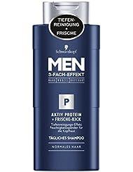 Men Aktiv Protein Frische-Kick Shampoo, 4er Pack (4 x 250 ml)