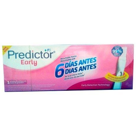 Predictor Early Test Embarazo 1 Unidad Test De Embarazo